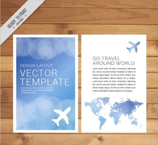 Free Travel Agency Brochure Design