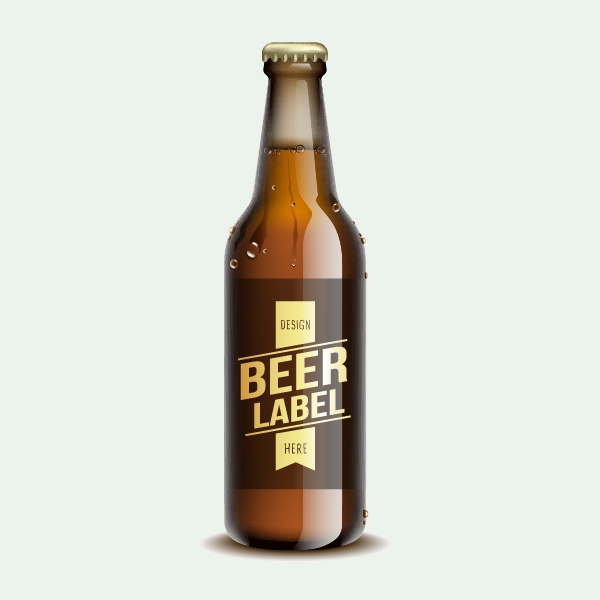 Free Vector Beer Bottles
