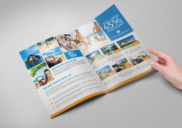 Fully Editable Travel Agency Brochure
