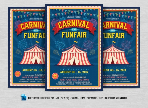 Fun Carnival Flyer Template