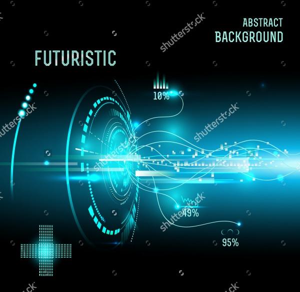 Futuristic Technology Vector Graphics