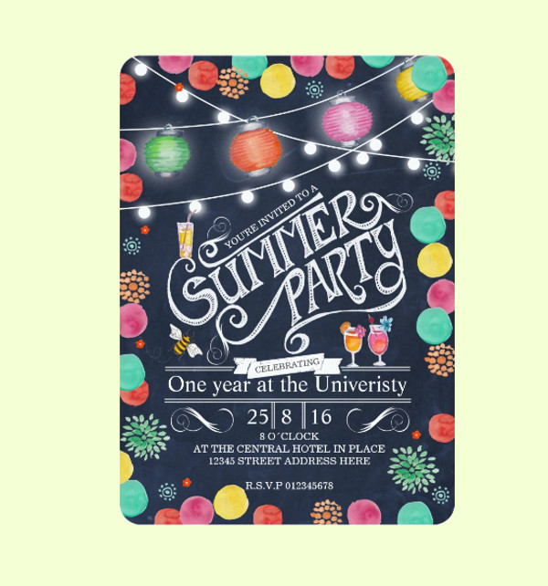 General Summer Party Invitation
