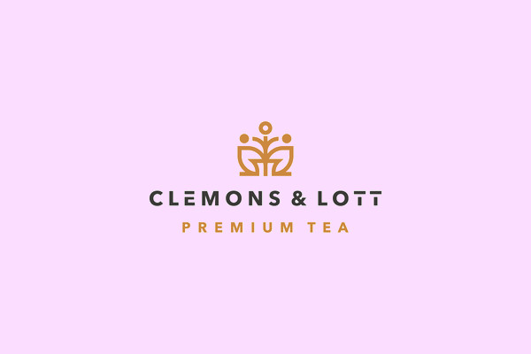 Gold Luxury Tea Mark logo