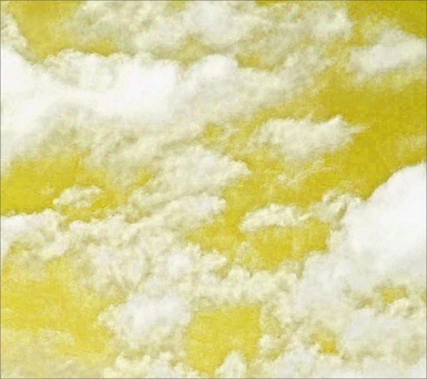 golden sky background pattern