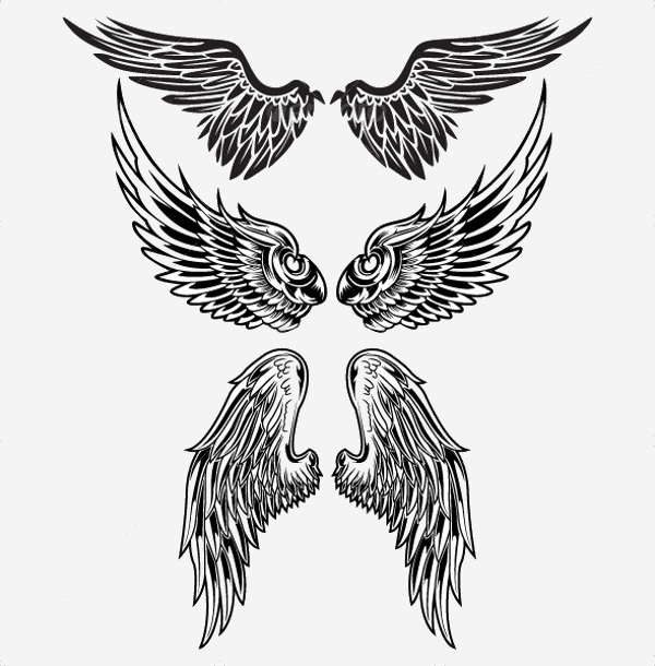 Gothic Wings PS Brushes