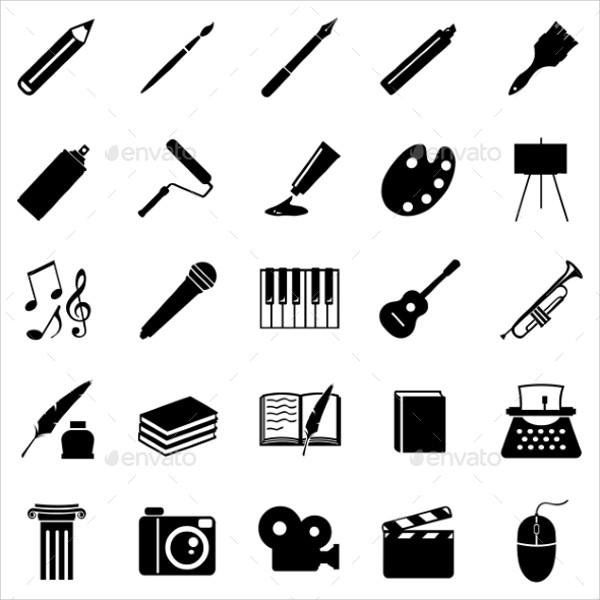 Graphic Art & Designing Icons