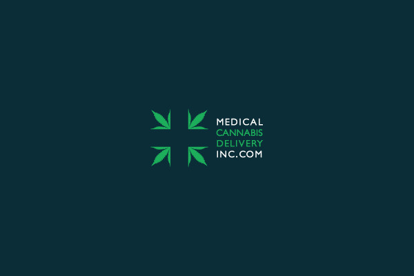 Green Medical Leaf Logo