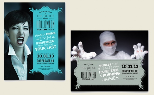 Halloween Costume Invitation Party