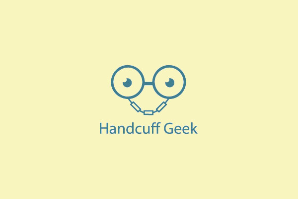 Hand Cuff Geek Logo Design