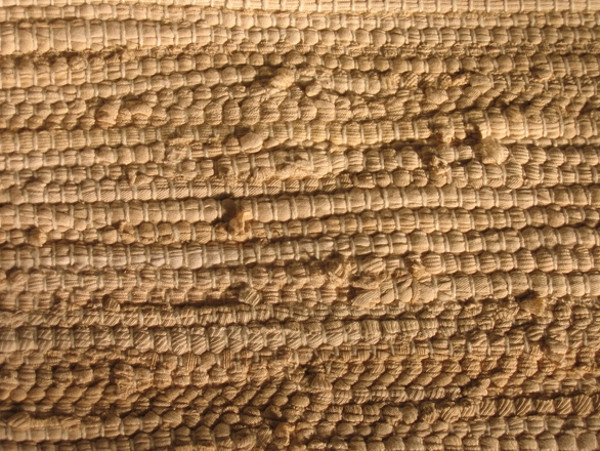 Hand-made Cotton Carpet Texture