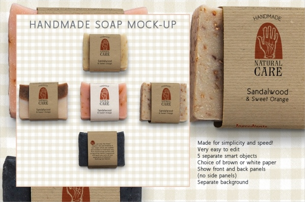 Handmade Soap Label Design