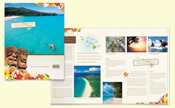 Hawaii Travel Vacation Brochure