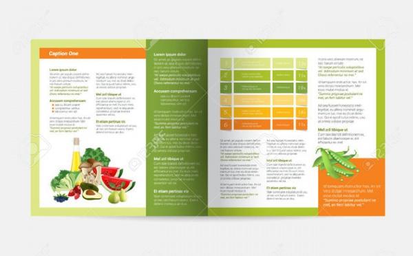 Health Magazine Layout Design