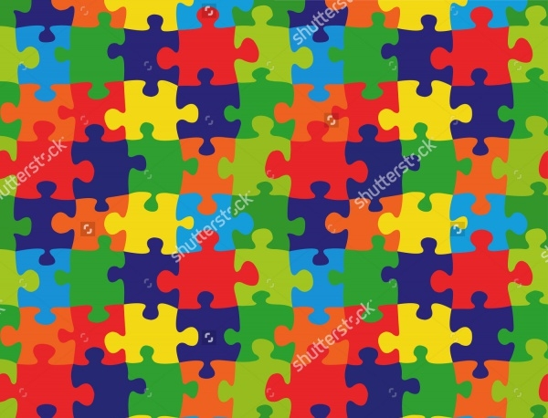 High Quality Puzzle Pattern