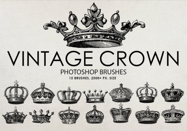 High Quality Vintage Crown Brushes