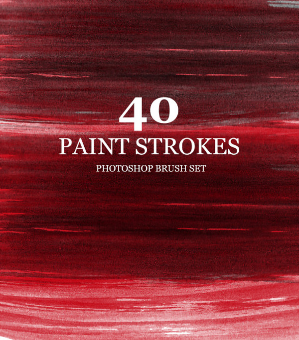 High Res Paint Strokes Brushes