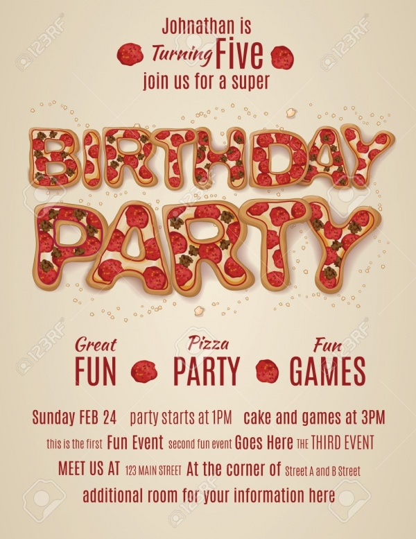 27   birthday flyer templates  u0026 creatives