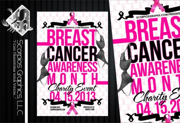 High Resolution Breast Cancer Flyer
