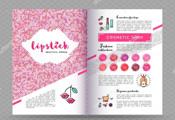 High Resolution Cosmetic Brochure