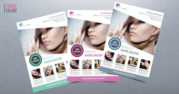 Highly Customizable Salon Flyer