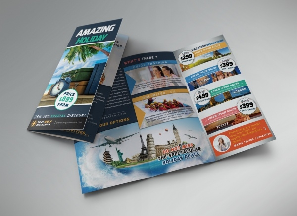 Holiday House Brochure Design