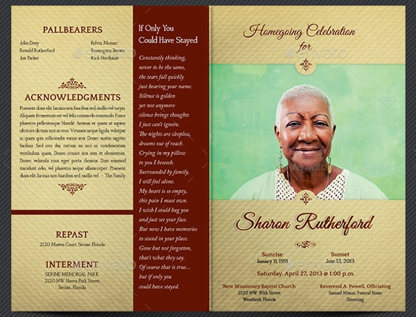 Funeral Flyers  Psd Indd Ai Download