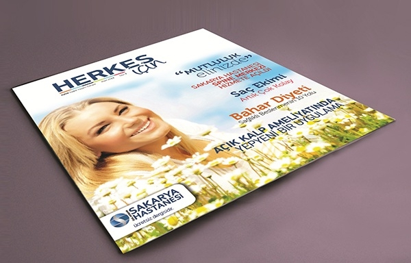 Hospital Magazine Brochure