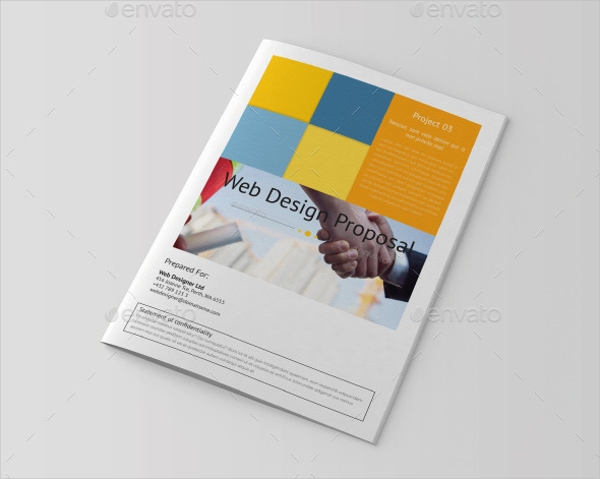 InDesign Brochure for Bank