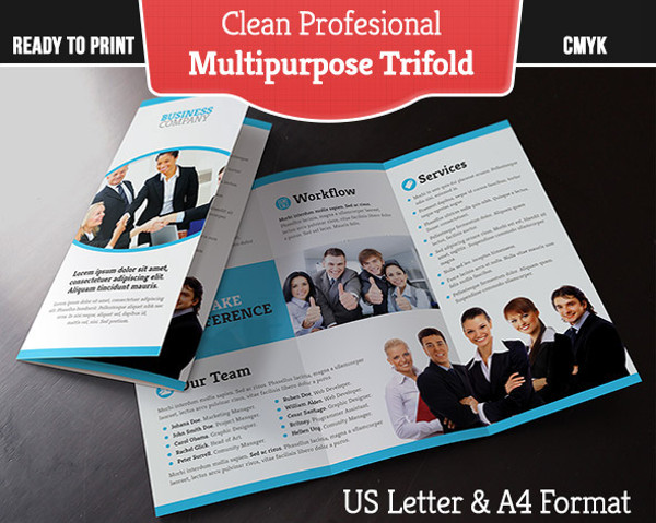 Indesign Professional Layout Brochure