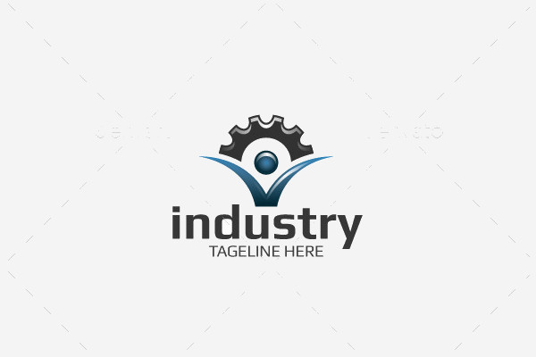 21 industrial logos psd vector eps jpg download for Industrial design company