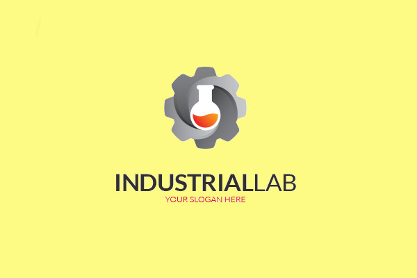 Industrial Chemical Lab Logo