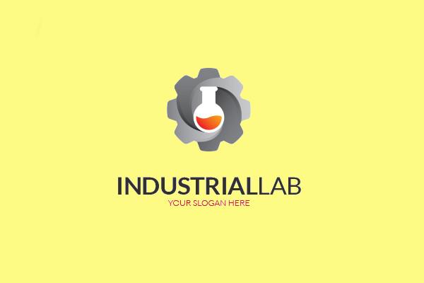 Industrial Chemical Lab Logo