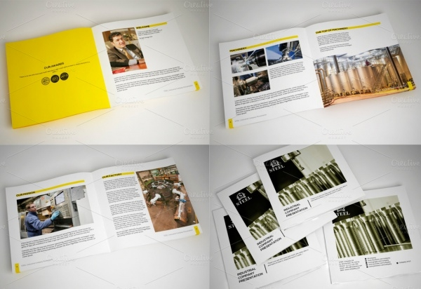 Industrial Commercial Brochure Template