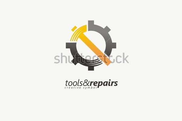 Industrial Vector Design Logo