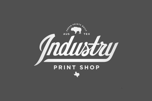 Industry Sport Script Logo
