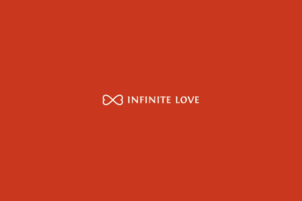 infinite love logo design