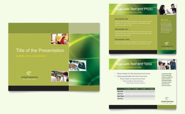 Internet Marketing Presentation Template