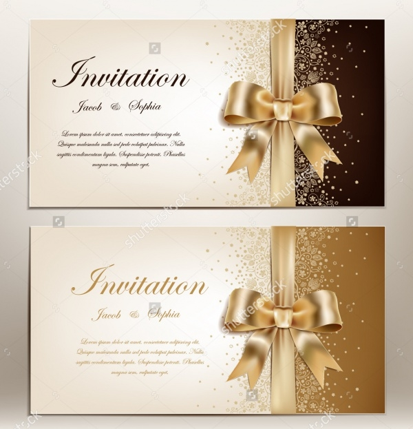 Invitation for Engagement Ceremony