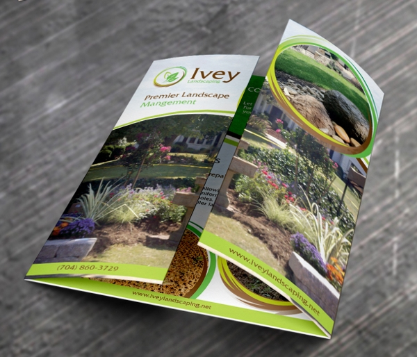 Ivey Landscaping Brochure Design