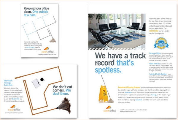 Janitorial & Office Cleaning Flyer