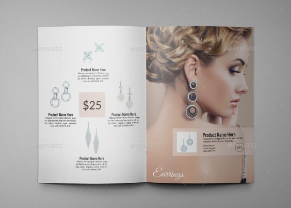 Jewelry A4 InDesign Brochure