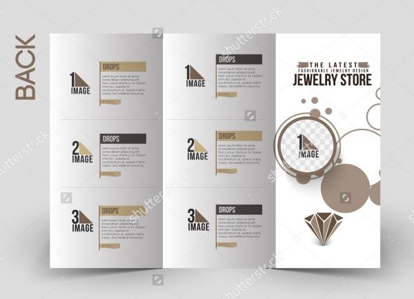 Jewelry Business Brochure Design