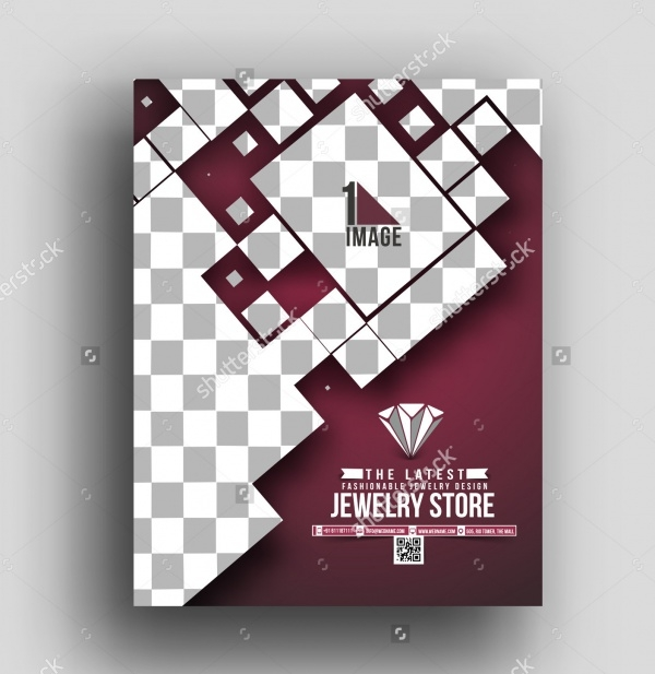 Jewelry Shop Front View Brochure