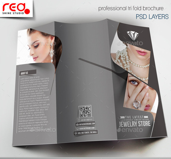 Jewelry Store Brochure Design