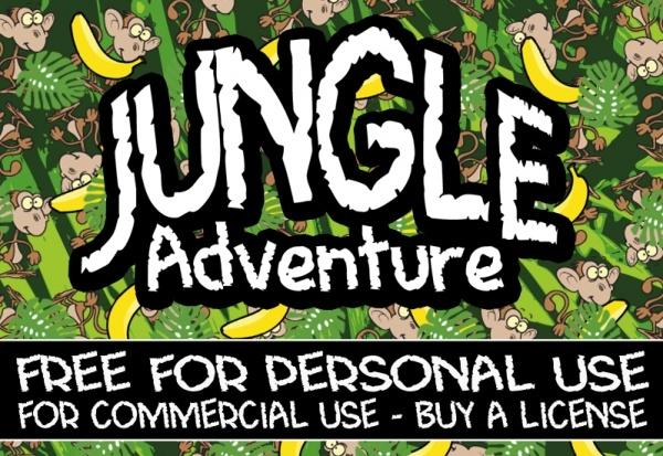 Jungle Adventure Font