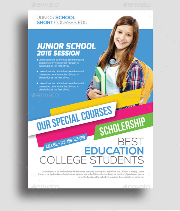 Junior Education Flyer Design