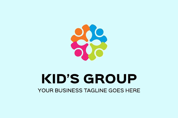 Kids Professional Logo Design