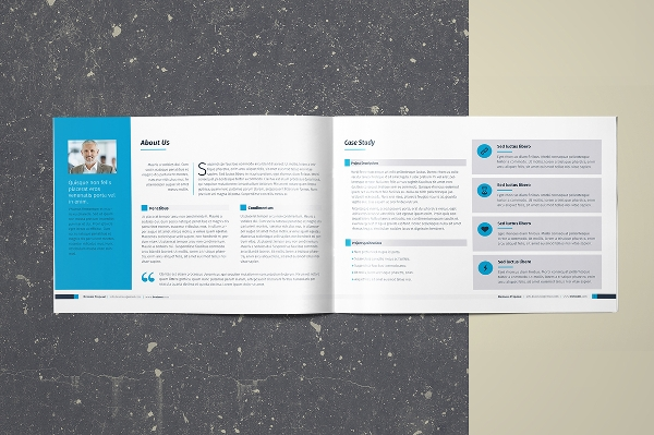 Landscape Business Proposal Brochure