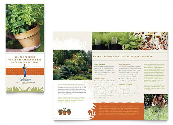 Landscape & Garden Store Brochure