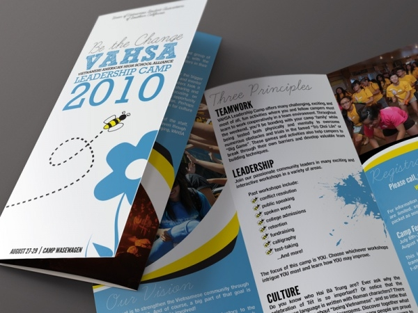 Leadership Camp Cool Brochure